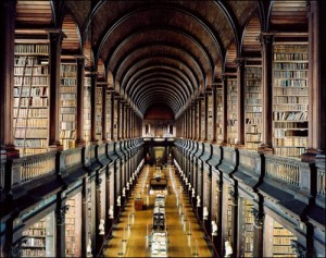 Good research for treasure leads at some point lead to a library