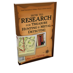 How To Research For Treasure Hunting And Metal Detecting - E-book