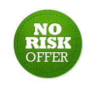 No Risk Offer - Circle Badge Green