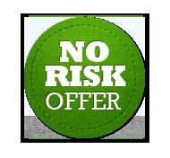 No Risk Offer - Circle Badge Green